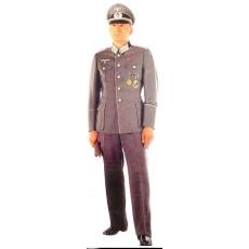 Вермахт форма пилотка офицерская