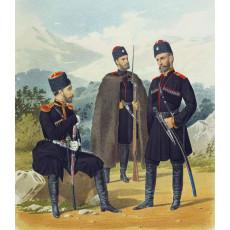 Форма казаков конца XIX века