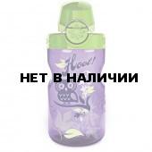 Бутылка Nalgene OTF KIDS PURPLE HOOT W/GRN CAP
