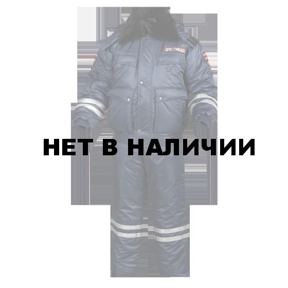 Костюм ДПС зимний с нов. нашивками твил/файб 200