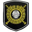 Нашивка на рукав Приказ №242 МВД Подразделение ВД на транспорте на рубашку вышивка шелк
