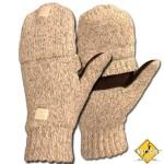 Перчатки-варежки вязаные Sentry