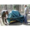 Четырехместная туристическая палатка для путешествий с велосипедами или большим багажом Alexika Tower 4 зеленый