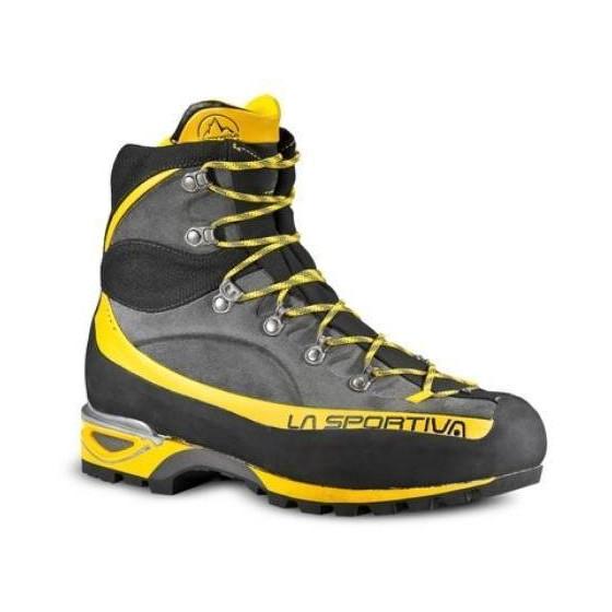 Высокотехнологичные легкие ботинки с бесшовной конструкцией SubSkin Injection La Sportiva Trango Alp Evo GTX 11N Grey/Yellow