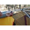 Универсальная четырехместная туристическая палатка с двумя входами и двумя тамбурами Alexika Rondo 4 зеленый