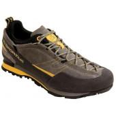 Кроссовки для подходов, виа-феррата и несложного лазания La Sportiva Boulder X Grey/Yellow