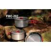 Туристический набор посуды на 2-3 персоны Fire-Maple FMC-202