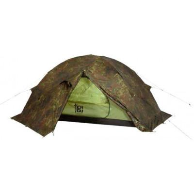Палатка на базе высокогорной альпинистской палатки Tengu MK1.08T3 камуфляж