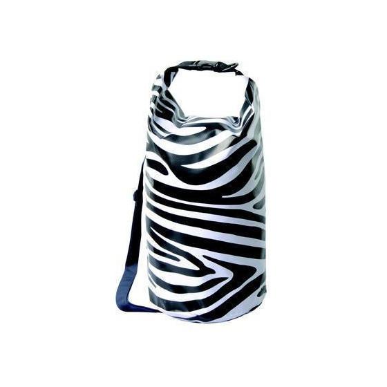Гермомешок Зебра с плечевым ремнём 20 л AceCamp Zebra Dry Sack with strap, 20L 2467