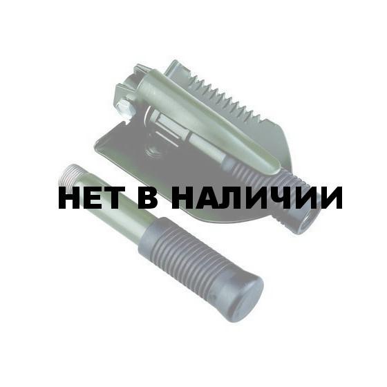 Лопата разборная с ледорубом, мотыгой и пилой AceCamp Folding shovel with pick 2588