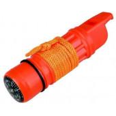 Свисток 5-и функциональный AceCamp 5-function whistle 3338