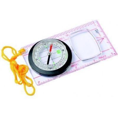 Компас люминесцентный с лупой AceCamp Fluorescent Map Compass 3116