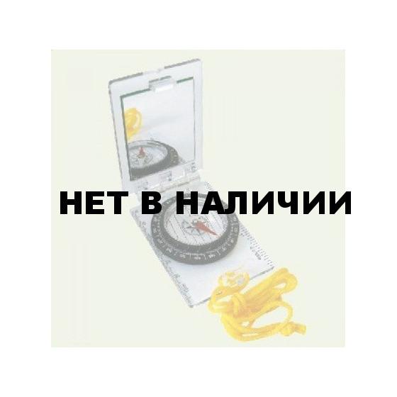 Компас складной с зеркалом, прозрачный. 75х52 мм, 43 г, 3114