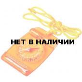 Компас мультифункциональный Мини, с термометром и свистком. 67х47 мм. 18 г, 3119