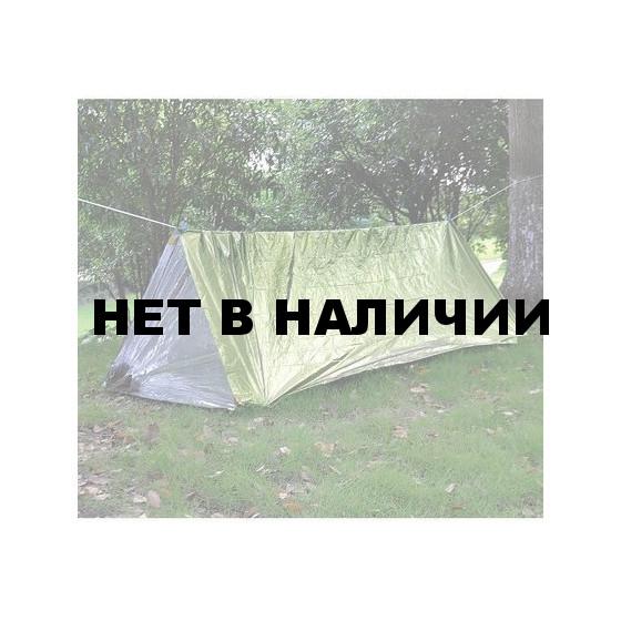 Палатка термосберегающая, туба AceCamp Reflective Tube Tent - Green 3953