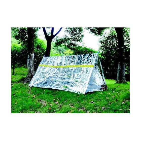 Палатка термосберегающая, туба AceCamp Reflective Tube Tent - Silver 3952