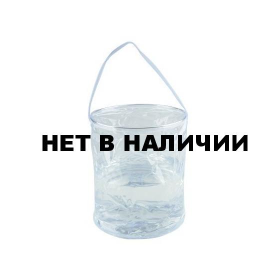 Ведро складное, прозрачное 10 л. 10 л., 1702