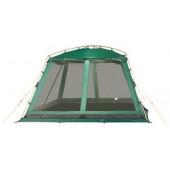 Большой каркасный тент для размещения столовой или кухни Alexika China House Alu зеленый