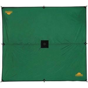 Универсальный тент защищает вас от дождя и солнца Alexika Tarp 3x3.2 зеленый