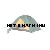 Универсальная четырехместная туристическая палатка с двумя входами и двумя тамбурами Alexika Rondo 4 Plus зеленый