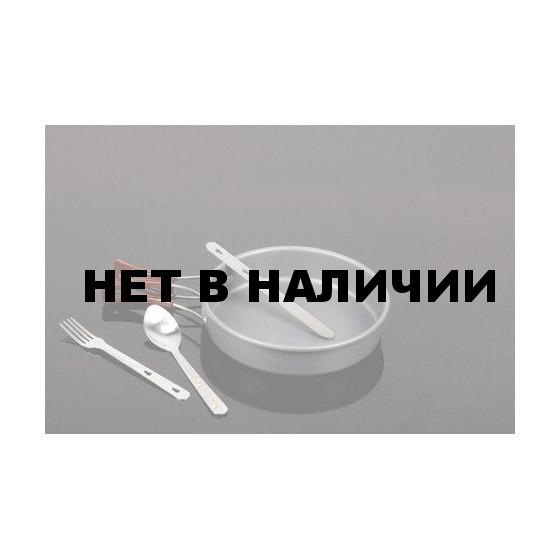 Набор столовых предметов на сец. креплении из нерж. стали в чехл