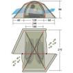 Универсальная двухслойная палатка Mark 54T 7107.2121