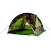 Устойчивый даже без ветровых оттяжек купол-шатер используется для организации кухни-столовой или склада Tengu Mark 66T 7157.4121