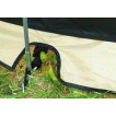 Палатка с большим тамбуром, ветрозащитным пологом по периметру и антимоскитной сеткой на входах в тамбур Alexika Minnesota 4 Luxe Alu зеленый