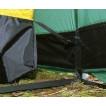 Трехместная туристическая палатка-полубочка с большим тамбуром Alexika Tunnel 3 зеленый