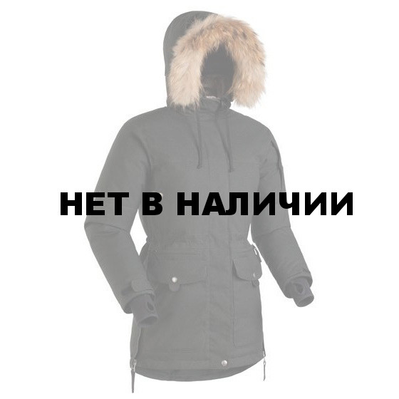 Женская пуховая куртка-парка Баск IREMEL SOFT ЧЕРНЫЙ M