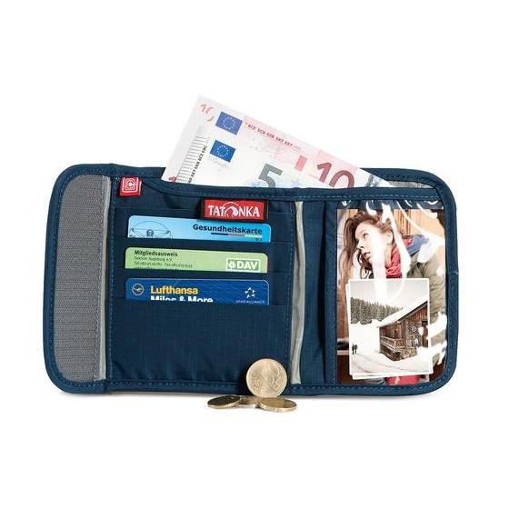 Кошелек для валюты Euro с защитой RFID Euro Wallet RFID B, navy, 2955.004