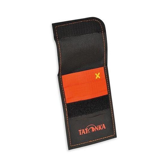 Шейный кошелек из ткани Hypalon HY Neck Wallet black/orange