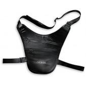 Сумочка-кошелек для скрытого ношения на бедре Tatonka Skin Chest Holster 2859.040 black