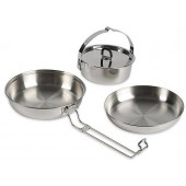 Набор посуды из трех предметов Camp Set Regular, 4113