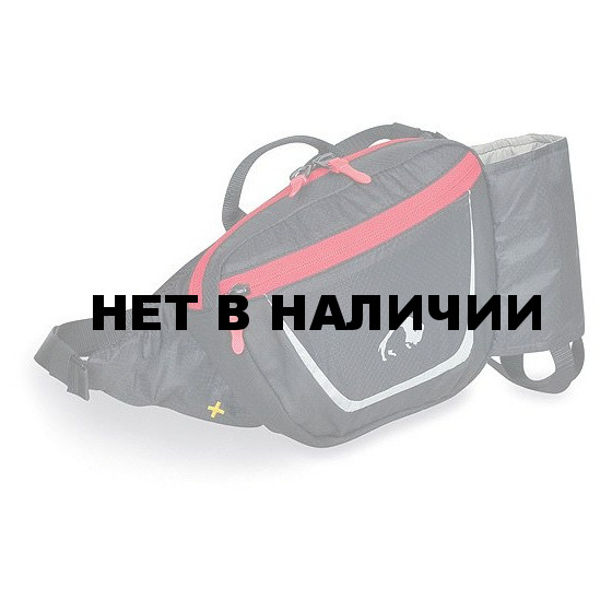 Легкая набедренная сумка со встроенным держателем фляги объемом 0,5 л Nordic Single black