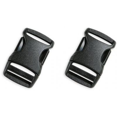 Универсальная пряжка (пара) SR BUCKLE 20mm, black, 3365.040