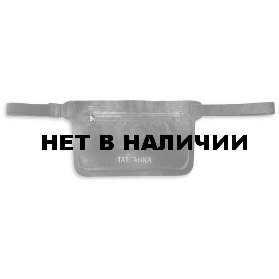 Водооталкивающий поясной кошелек на молнии WP Document Belt, black, 2906.040