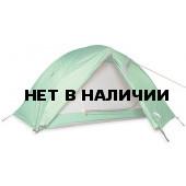 Легкая купольная двухместная палатка Mountain Dome Light forest green