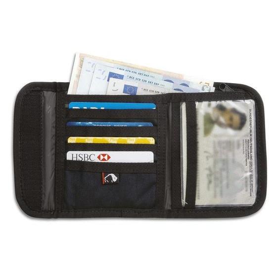 Удобный кошелек Euro Wallet black