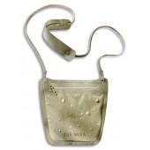 Водооталкивающий шейный кошелек на молнии WP Neck Pouch, natural, 2909.225