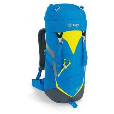 Яркий и удобный рюкзак для путешественников старше 10 лет Tatonka Mani 1825.194 bright blue