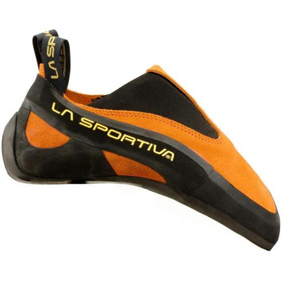 Мягкие туфли в форме слипперов La Sportiva Cobra Orange