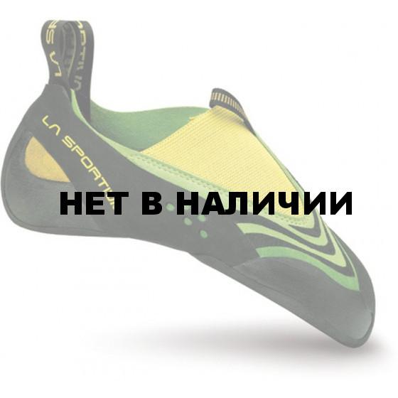 Туфли слипперы для сложного лазания La Sportiva Speedster Lime / Yellow