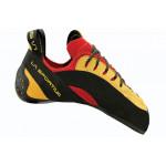 Скальные туфли с асимметричной шнуровкой La Sportiva Testarossa Red / Yellow
