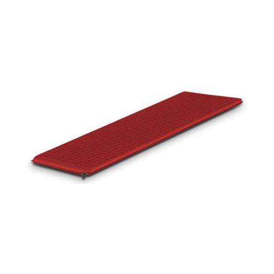 Легкий самонадувающийся туристический коврик Alexika Travel 66 9322.3108 Burgungy Red