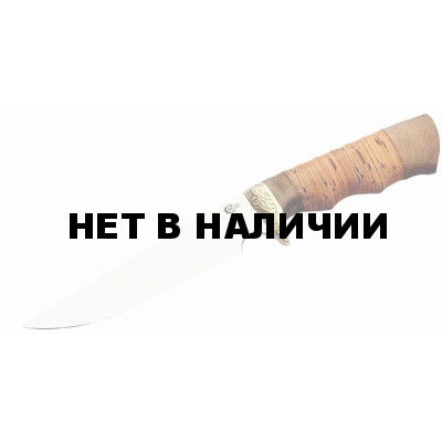 Нож Ворсма туристический Легионер, сталь 65х13, дерево-орех (кузница Семина)