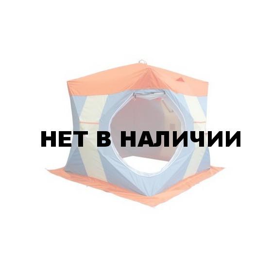 Палатка рыбака Нельма-Куб 2 Люкс (двухслойная)