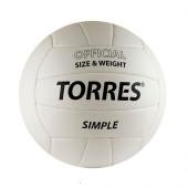 Мяч волейбольный Torres Simple V30105 р.5