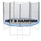 Батут с сеткой и лестницей 10-футовый с 6-ю стойками GB10202-10FT 305 см