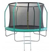 Батут с сеткой и лестницей 10-футовый с 6-ю стойками GB10211-10FT 305 см